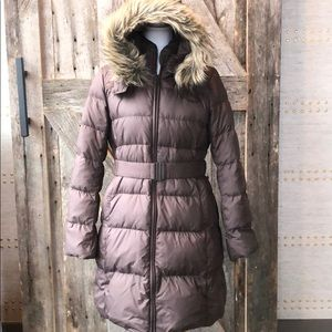 Women's long winter coat